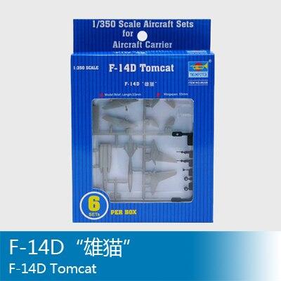 Trompete hand 06220 1350 UNS F-14D Tomcat kämpfer (6 Paket) Montage modell