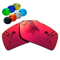 100 precisely cut polarized replacement lenses for gascan sunglasses magenta red mirrored coating color choices