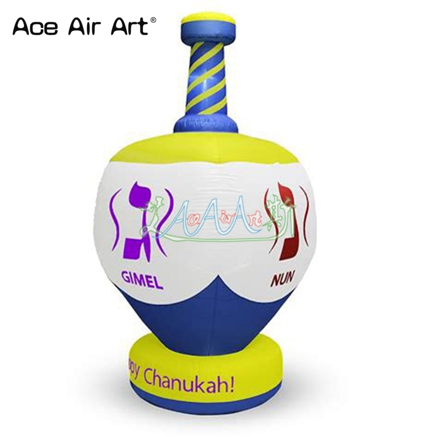 Personalizado insufláveis chanukah hanukah férias decoração de publicidade e promoção para a venda