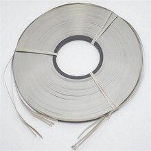 10 метров 8x0,2 Ni пластины никелевая стальная лента для Li 18650 26650 аккумуляторная машина для точечной сварки сварочное оборудование