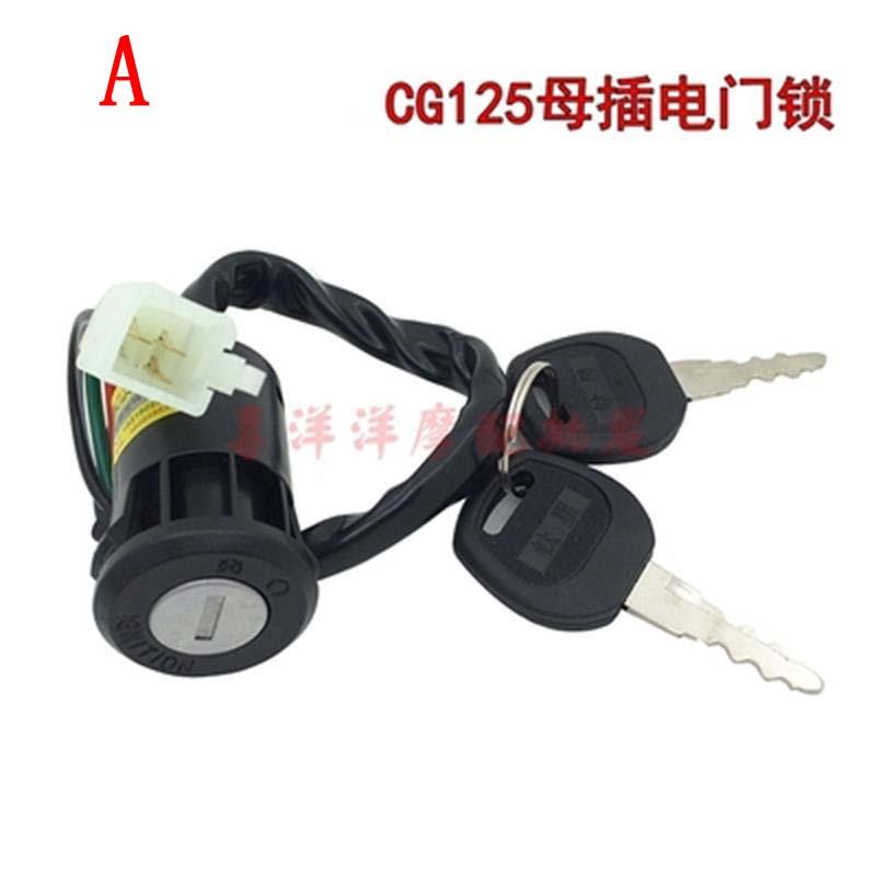 Cerradura de bicicleta eléctrica, Patinete eléctrico, para Honda CG125 CG 125 125CC