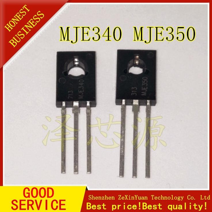 100 pares = 100 Uds MJE350 100 MJE340 JE340G JE350G puro importado ANSENMEI