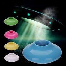 Mini USB Donut humidificador difusor de Aroma purificador de aire hogar Oficina Coche portátil humidificador de niebla sonido-apagado portátil aromaterapia