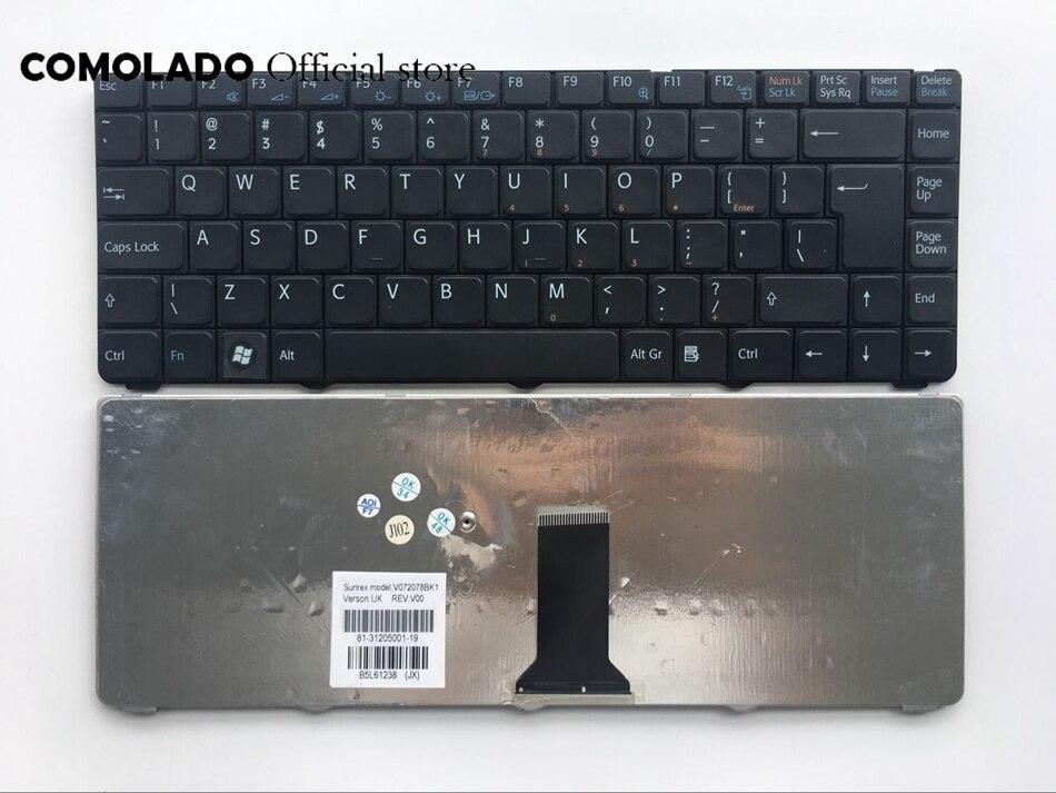 Interfaz de teclado para SONY VGN-NR VGN-NS NR NS PCG-7151M PCG-7153M PCG-7154M portátil negro teclado interfaz de diseño