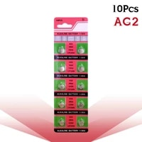 10pcspack 1 55v ag2 lr726 396 button batteries sr726 196 cell coin alkaline battery sg2 sr9 726 lr59 for watch toys remote