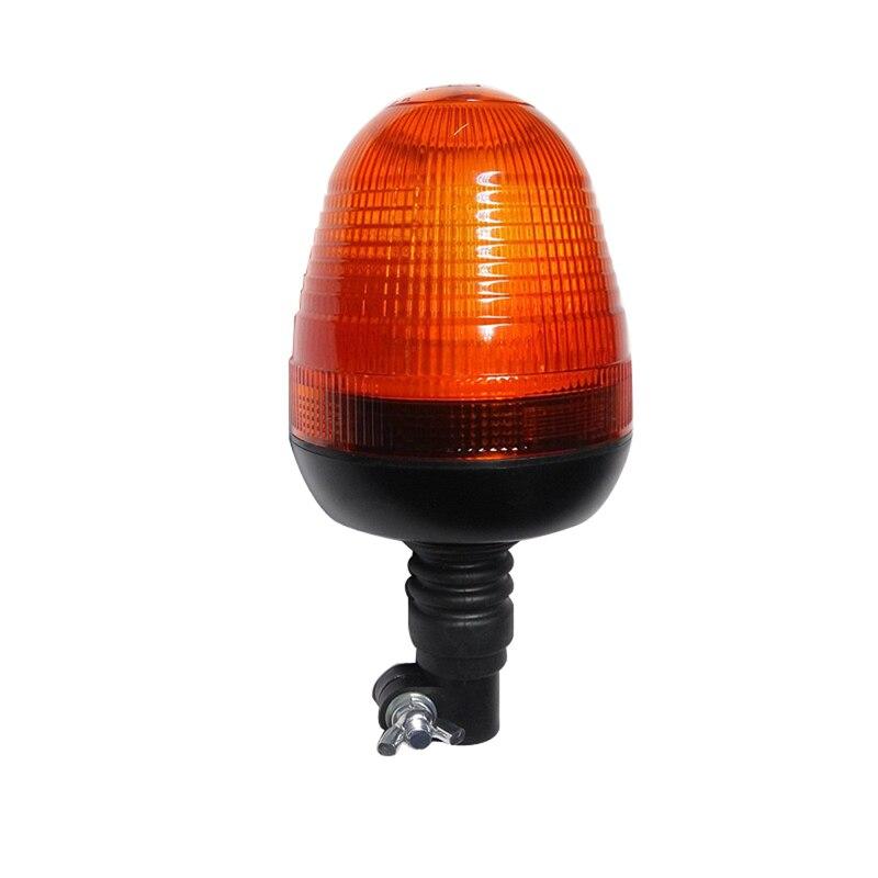 Faro intermitente giratorio LED luz de advertencia estroboscópica conmutable para vehículo de ingeniería de camión luz externa ámbar