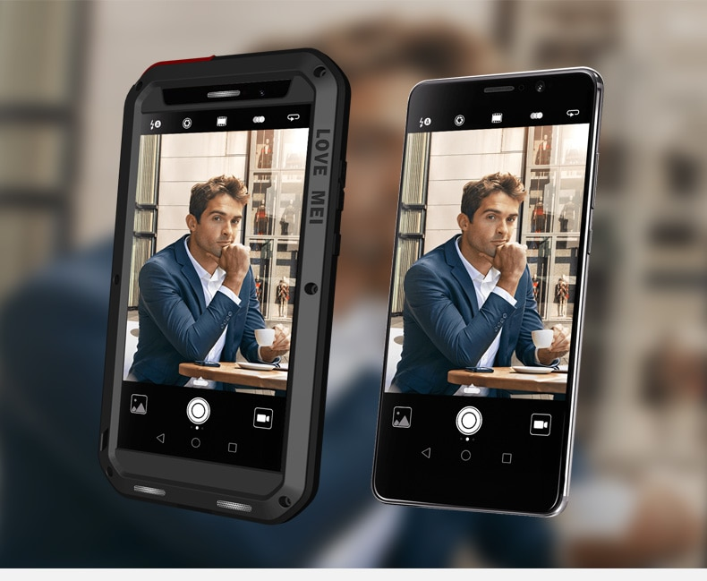 Para Huawei Mate 9/Mate 9 Pro funda LOVE MEI Shock Dirt resistente a prueba de agua armadura de Metal funda de teléfono para Huawei Mate 9 Pro