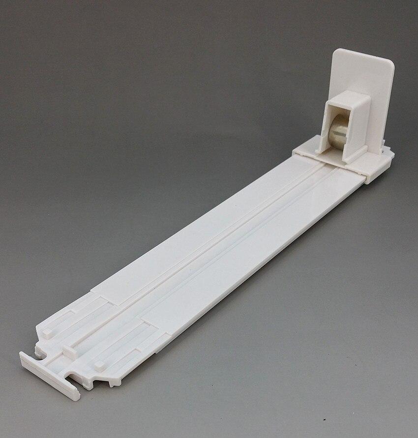 Estantería de plástico para cigarrillos, máquina automática de empuje L 286mm en supermercado, divisores y rieles combinados, buena calidad, 100 Uds.