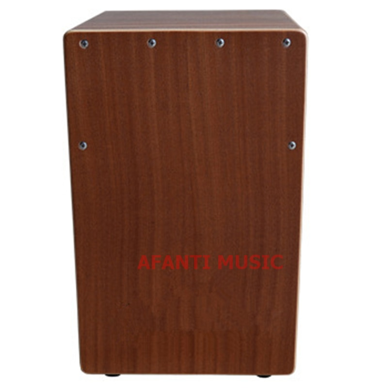Afanti musique Sapeli bois/Cajon naturel tambour (KHG-175)