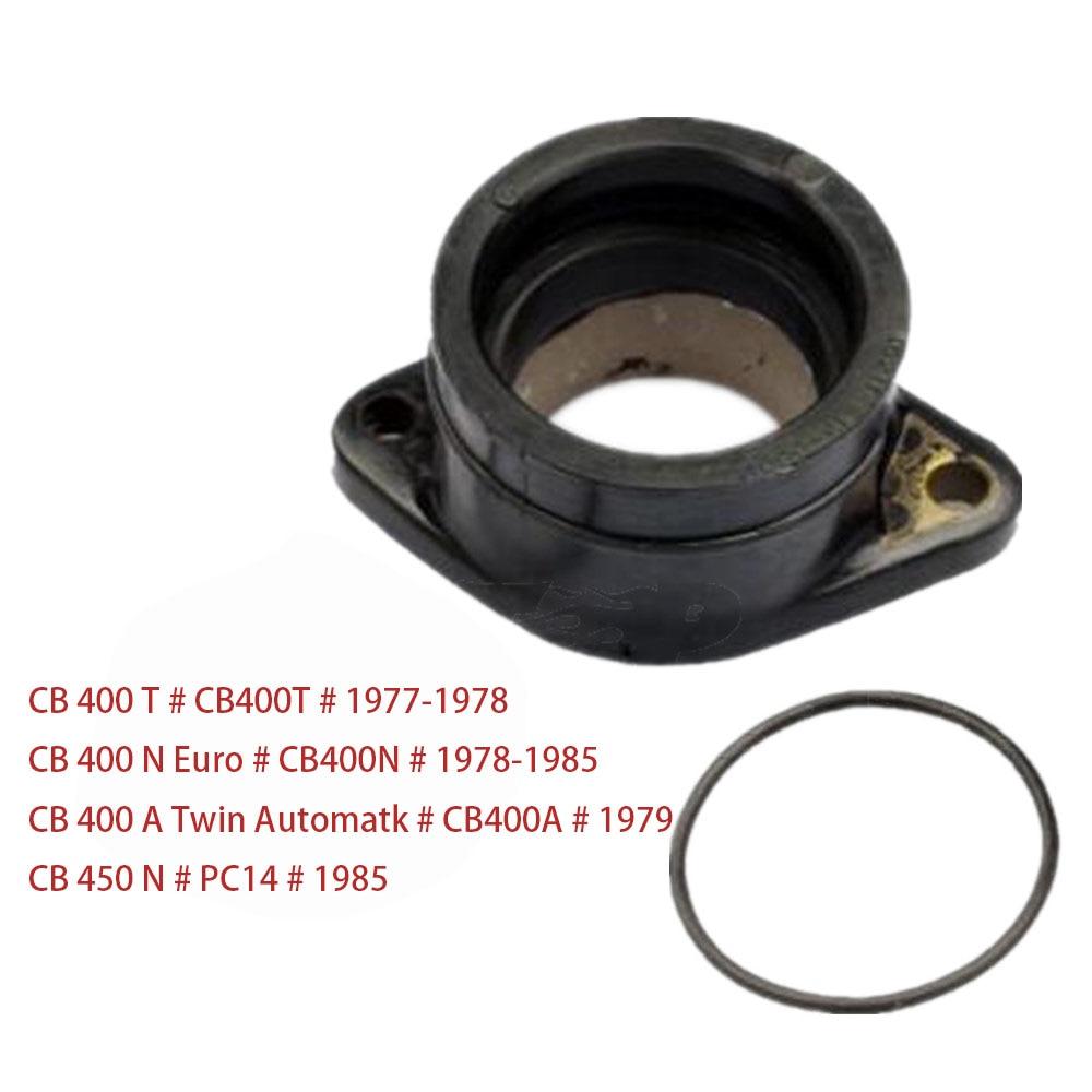 Carburetor Interface Intake outlet Manifold Adapter Insulator For Honda CB 400 T # CB400T # / N Euro # CB400N # / N # PC14 #