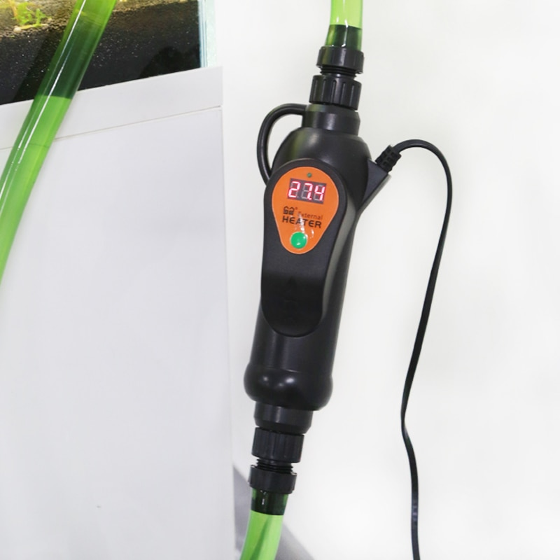 Sunsun EH-300-500 110v/220v acuario pecera temperatura ajustable calentador externo