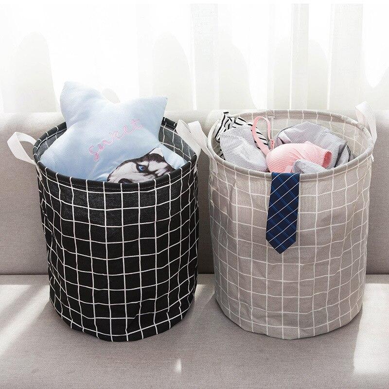 Große Wasserdichte Wäsche Korb Geschenk Kleidung Lagerung Korb Hause Kleidung Eimer Tasche kinder Spielzeug Lagerung Wäsche Korb