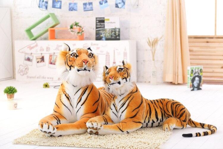 2018 Подушка с животным тигром милая плюшевая игрушка кукла чучело мультяшное животное детские игрушки 13 24 месяца подарок на день рождения игрушки для детей juguetes