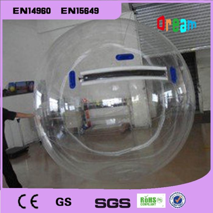 Bola inflable para caminar por el agua envío gratis 2m Bola de agua globo Zorb bola inflable hámster humano bola de plástico