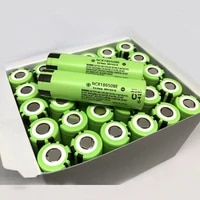 10pcslot new original panasonic 18650 ncr18650be 3200mah 3 7v rechargeable battery lithium batteries cell for e cigarettes