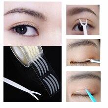 600 pièces paupière bande autocollant Invisible Double pli paupière pâte claire Beige rayure auto-adhésif naturel yeux bande maquillage outils