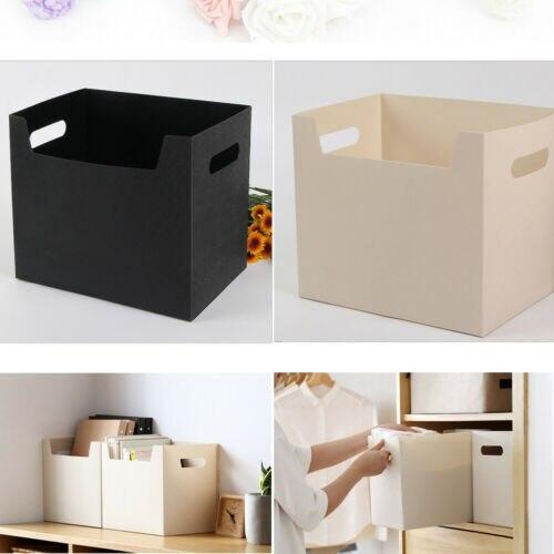 Organizador portátil de oficina 2019, caja de archivo de libros PP, soporte de papel, organizador de documentos de oficina, Kit organizador, cajas de almacenamiento