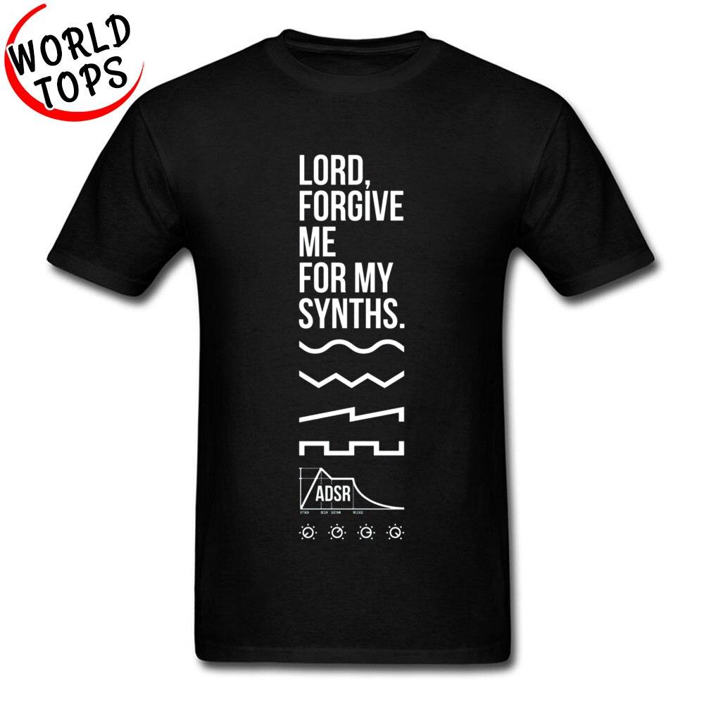 Camiseta de música ADSR Kanye West Lord Forgive Me For My Synths, camiseta blanca y negra para hombre, suéter de ropa de Hip Hop