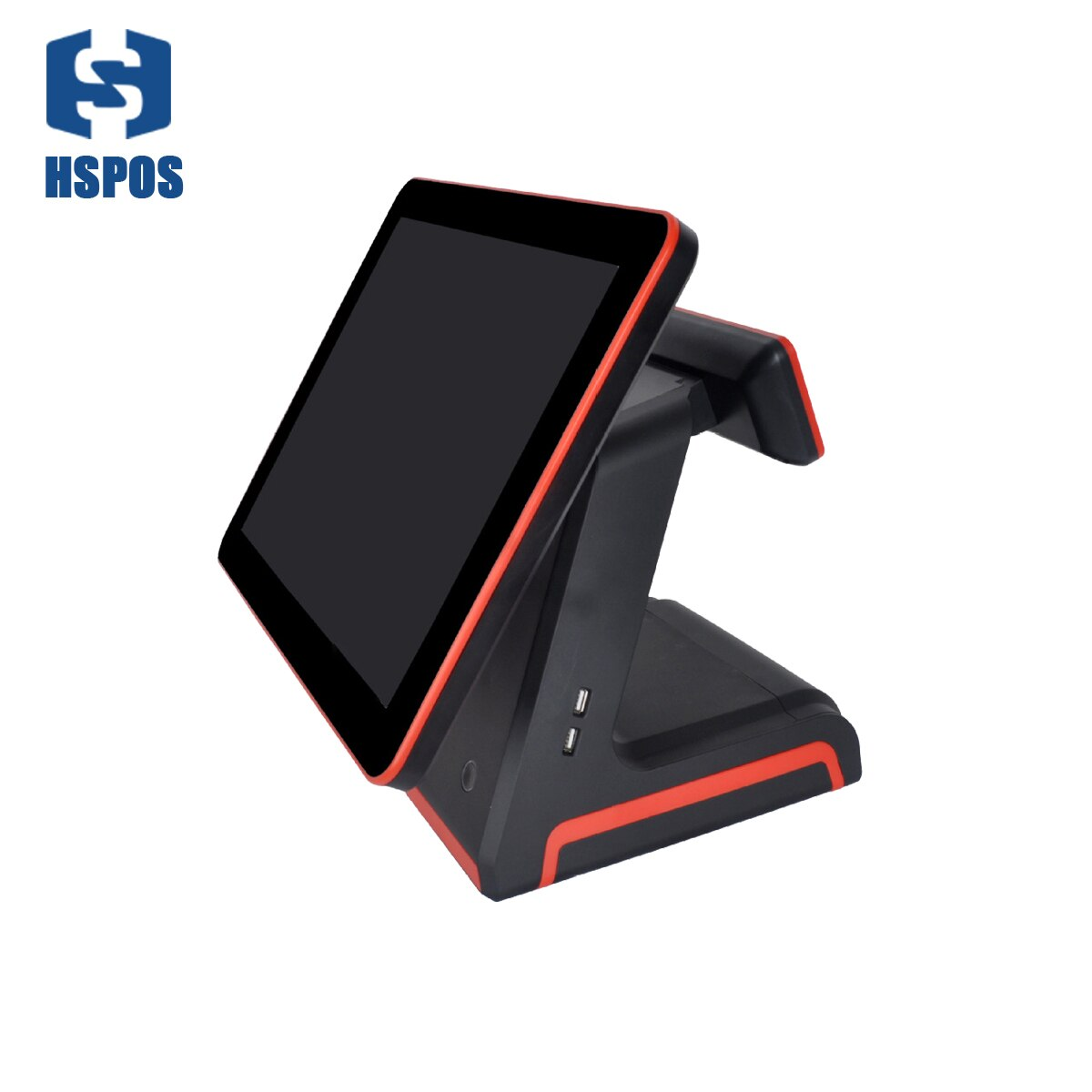 Pantalla LCD, monitor de pantalla táctil, compatible con una pantalla única de 15,6 pulgadas para restaurante cafetería