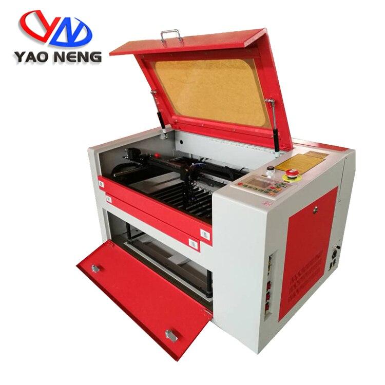 Cortadora láser de 80W CNC, grabador de impresora láser 220 V/110 V, máquina cortadora de grabado láser CO2 4060