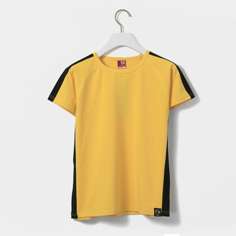 Camiseta de algodón para Artes Marciales USHINE, camiseta de Kung Fu Wing Chun, camiseta de manga corta, uniforme de Kung Fu clásico para hombres y mujeres