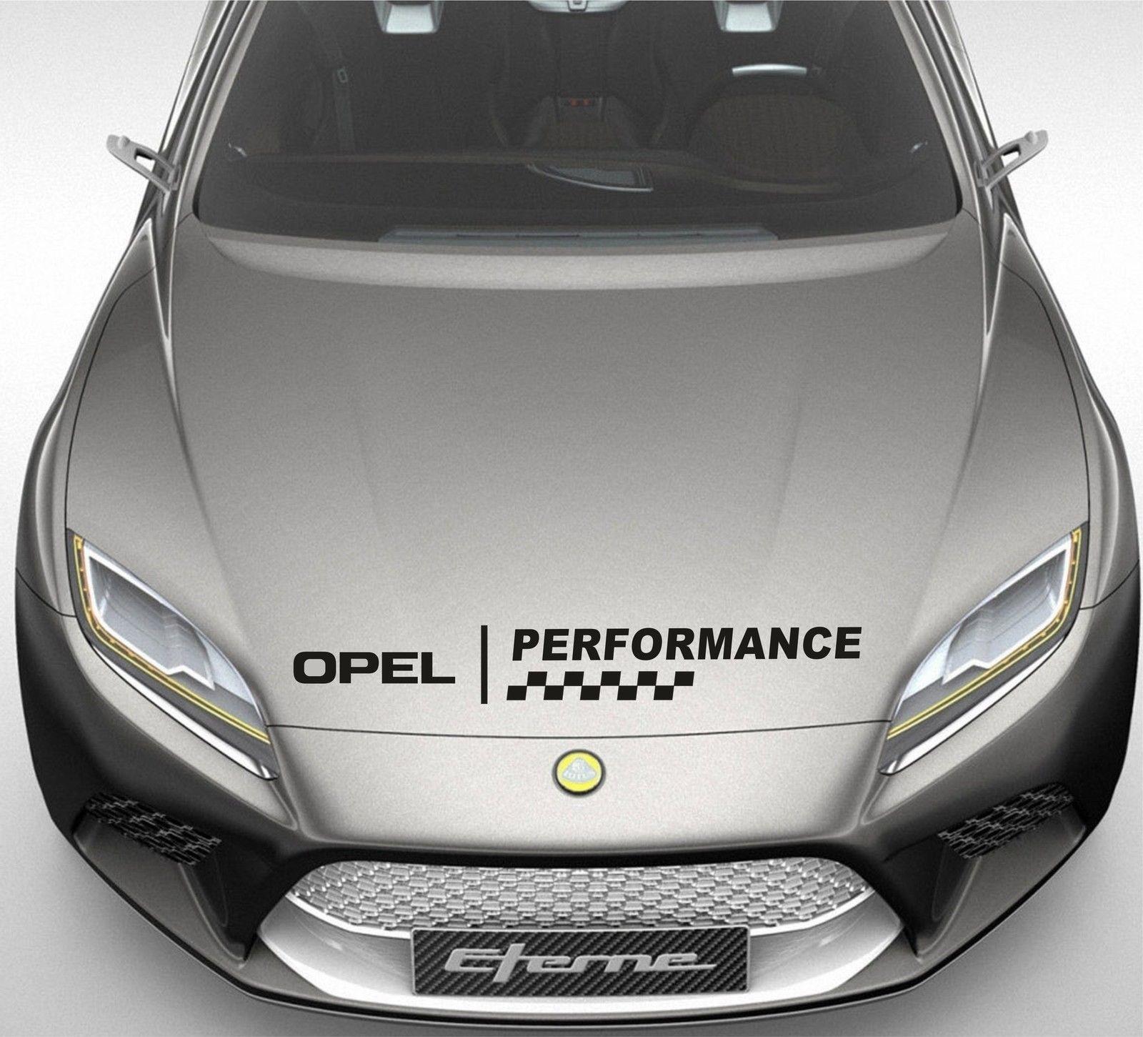 Autocollant de capot de fenêtre de Performance pour Opel Zafira Manta décor autocollant DE33 58.5cm