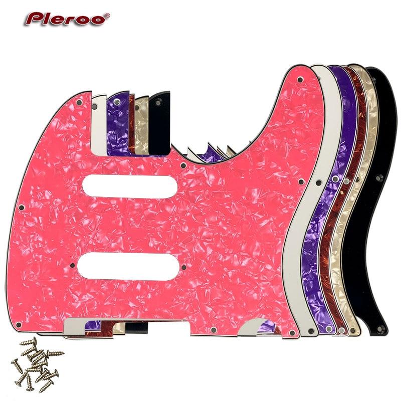 Pleroo Custom Guitar Parts - For US Nashville 62 Tele telecaster Guitar Pick guard With Strat Pickup Scratch Plate fender dlx nashville tele rw frd