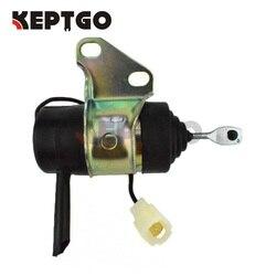 12 v Combustível Desligue Solenóide para Kubota G1700 G1800 G1800S G1900 G1900S G2160 G2160DS 16851-60010 16851- 60012 16851-60013