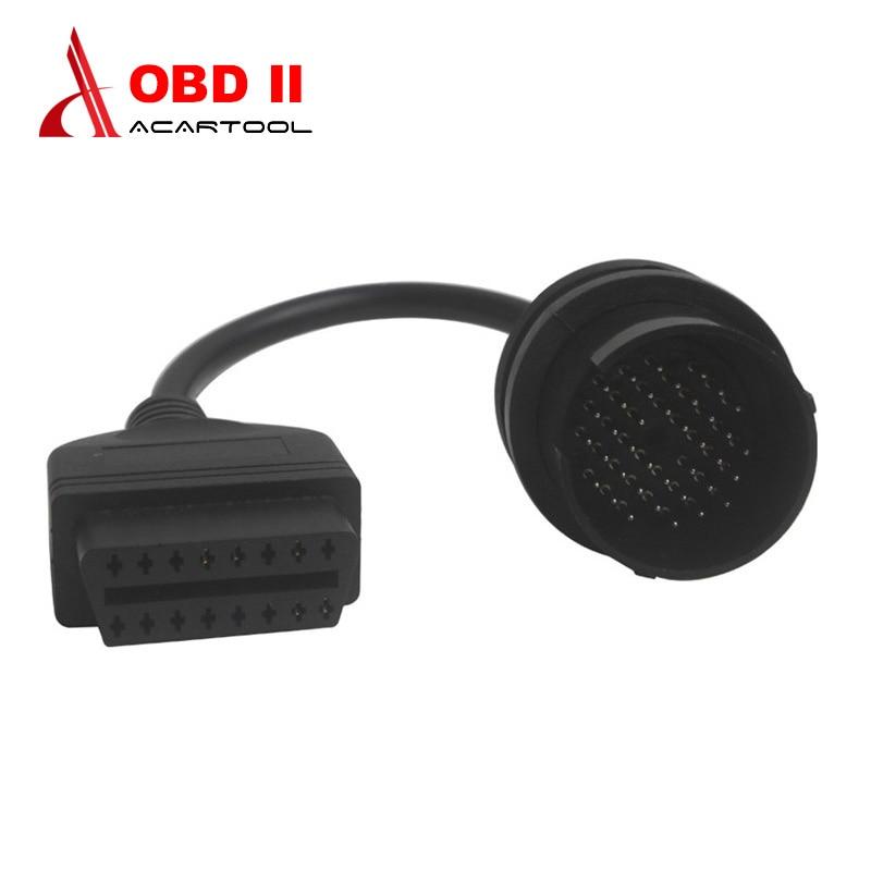 38 pinos cabo obd cabo obd2 adaptador 38 pinos para mercedes obd cabo para benz 38pin para 16pin conector automotivo