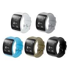 OOTDTY nouveau remplacement de bracelet en Silicone pour Samsung Galaxy Gear S SM-R750 montre intelligente