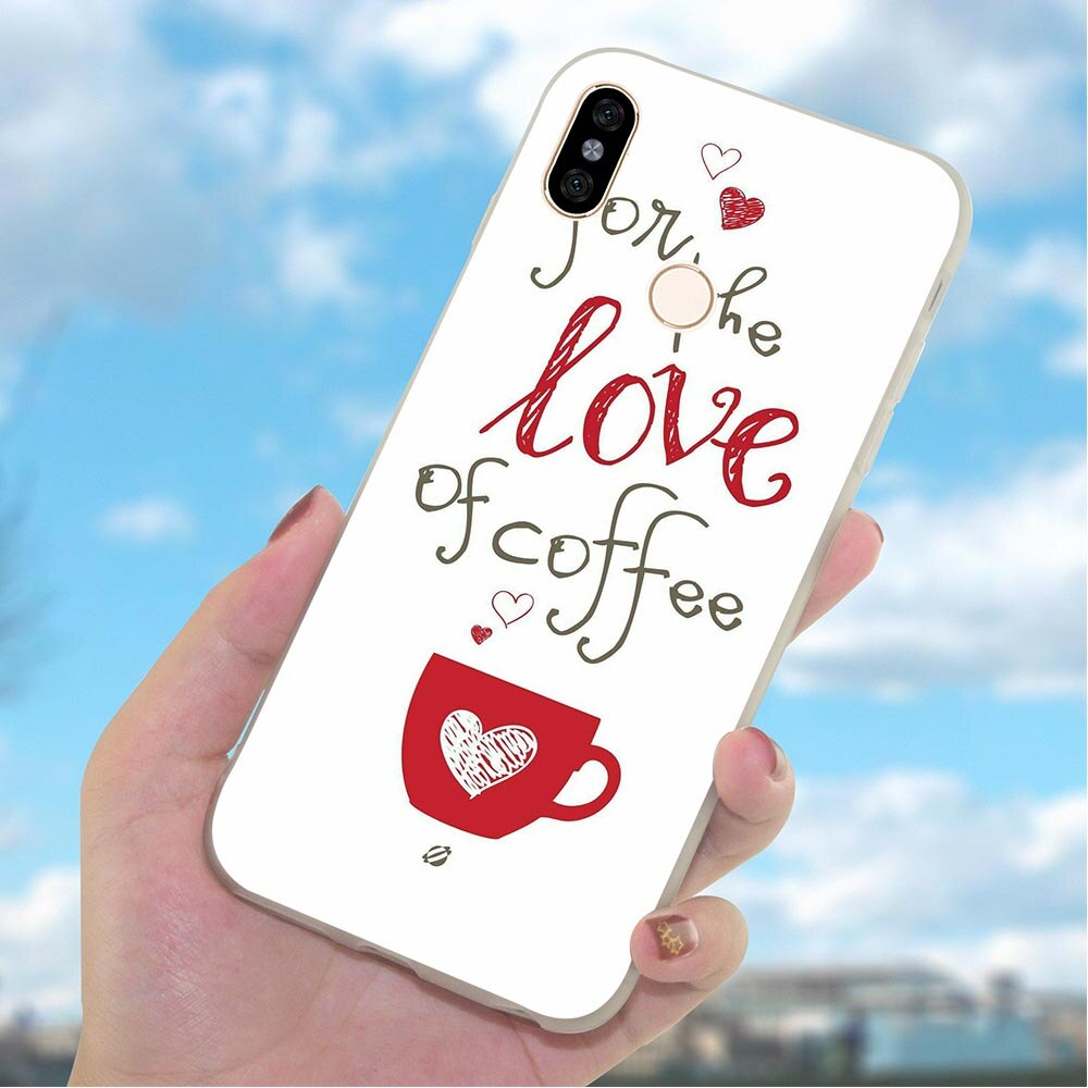 Funda de móvil suave de TPU de silicona para Xiaomi Redmi Note 7 Pro, funda para café y vino, 4X, A2, A1, 4A Plus, 5A, Prime, 6A, 6, 5, para Mi 9se Xiaomi, 9 Lite