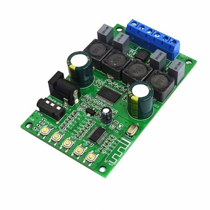 HIFI Bluetooth 5.0 דיגיטלי אודיו מגבר לוח TPA3118D2 30W * 2 בית קולנוע סטריאו מגבר קטן סטריאו amp