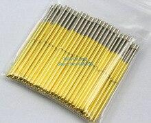 100 أجزاء P100-G2 ديا 1.36 ملليمتر طول 33.35 ملليمتر 180 جرام الربيع اختبار مسبار بوجو دبوس
