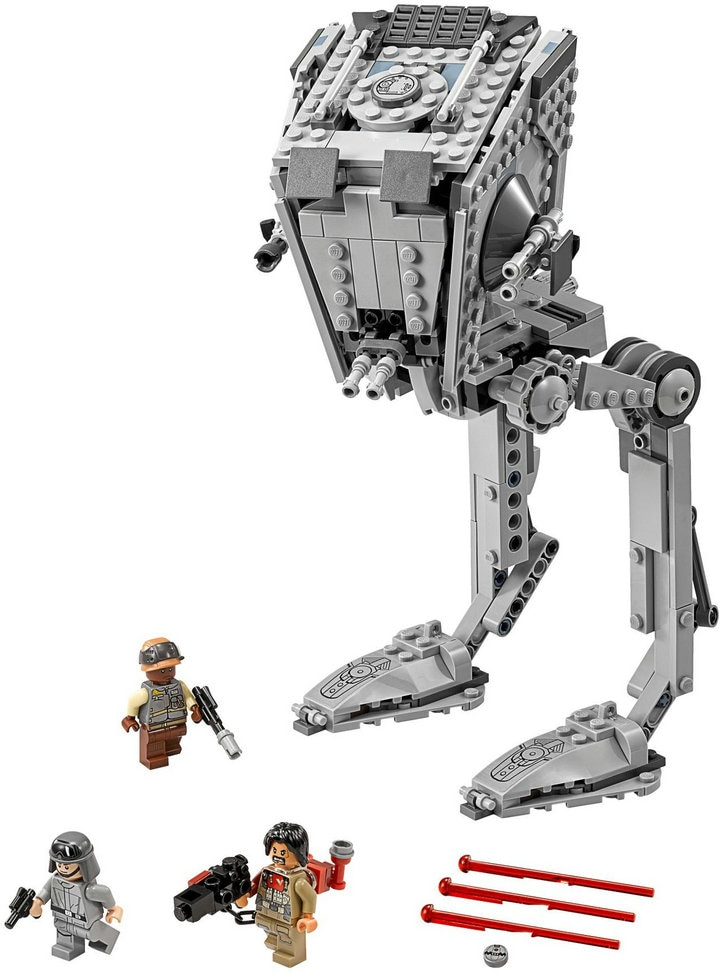 NEW Star Wars Classic AT-ST Walker Model Building Blocks Bricks Model Toys 75153 children toys