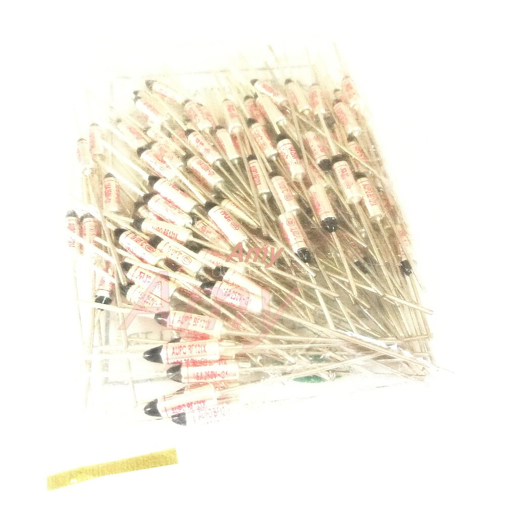 100 قطعة/الوحدة درجة الحرارة فتيل BF121X Tf 121 درجة 16A 250V RY121 الأصلي أصيلة الصمامات