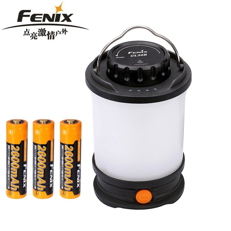 2106 nuovo Fenix CL30R luce di Campeggio Max 650 Lumens Micro-USB ricaricabile Lanterna