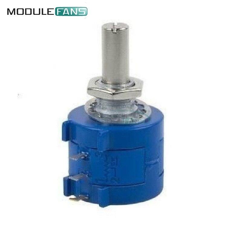 50K Ohm 590S-2-503L BOURNS Rotary bobinado de precisión potenciómetro olla 10 Turn