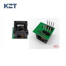 SOP8 SOIC8 SO8 to DIP8 EZ Programer Socket Pitch 1.27mm IC Body Width 3.9mm 150mil IC Test Adapter EZ CH341
