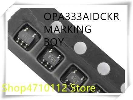 Nuevo, 10 unidades/lote, OPA333AIDCKR OPA333AIDCKT OPA333, marcado BQY SC70-5