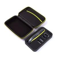 portable trimmer shaver and accessories eva travel bag storage pack box no razor case for philips oneblade
