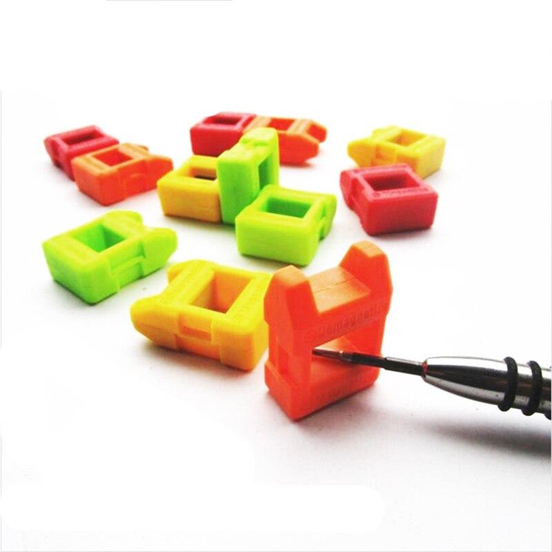 Mini Magnetizer Demagnetizer aracı tornavida paslanmaz çelik yüksek kaliteli Magnetizer 2 In 1 hızlı tornavida Magnetizer