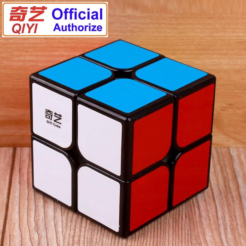 Профессиональный магический куб QiYi 2x2x2, скоростной куб, головоломка Neo Cubo Magico Cube, стикер Kubus, обучающие игрушки для детей MF2