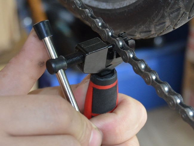Mini Bike Bicicletta Ciclismo Acciaio Cut Catena Splitter Taglierina Breaker Riparazione Two Tone Grip Per Una Maggiore Maneggevolezza LGJ001