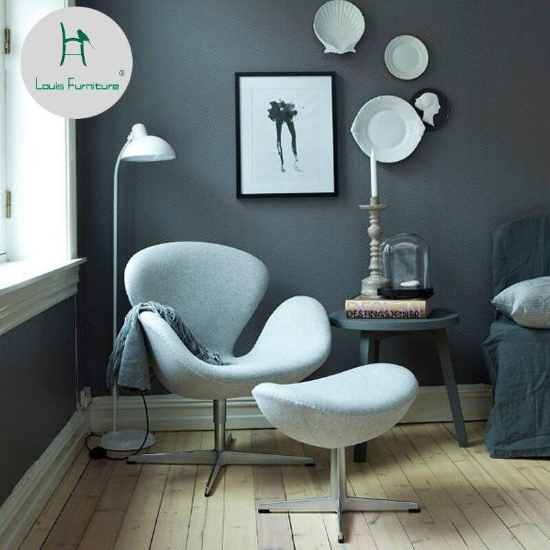 Офисные стулья Louis Fashion в скандинавском стиле дизайнерские креативные
