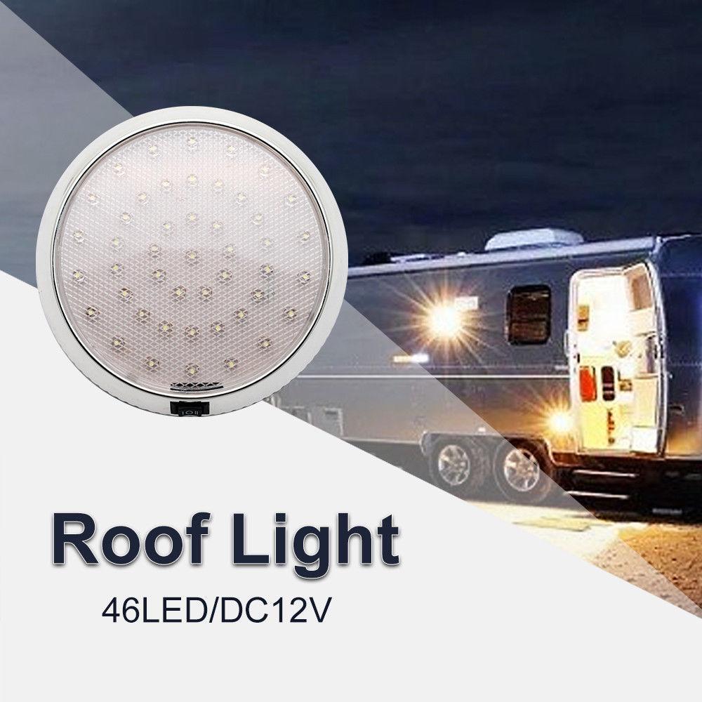 46 LED потолочные каюты на крыше караван камперван Ван трейлер Интерьер лампы белый свет