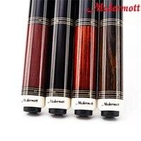 high quality mcdermott handmade billiard pool cues stick 12 5mm 11 5mm tip 100 years old wood shaft china