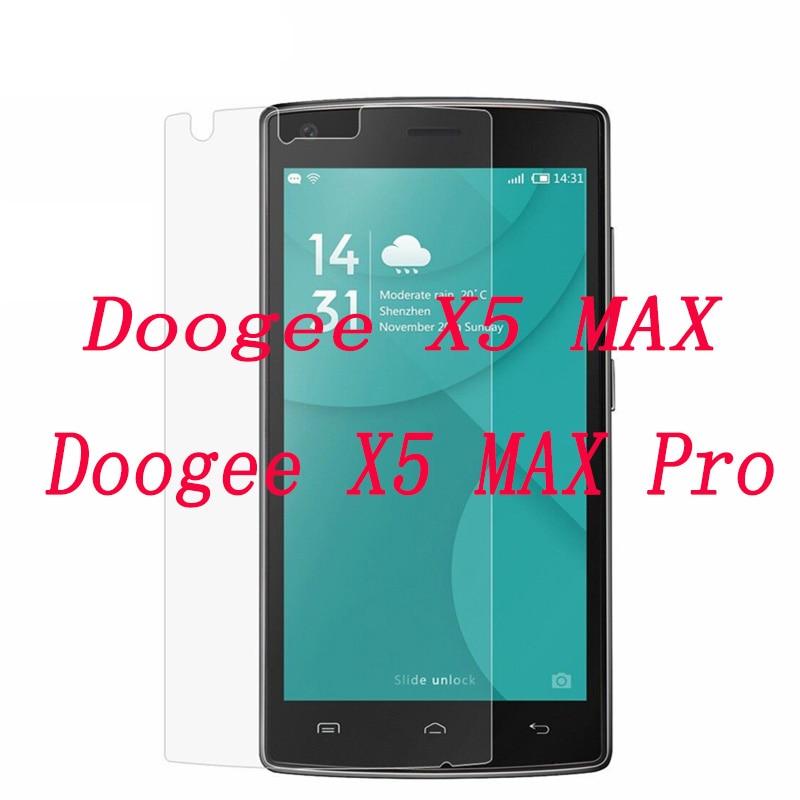 """2 stücke NEUE Screen Protector telefon Für Doogee X5 MAX/X5 MAX Pro 5,0 """"Gehärtetem Glas SmartPhone Film schutzhülle"""