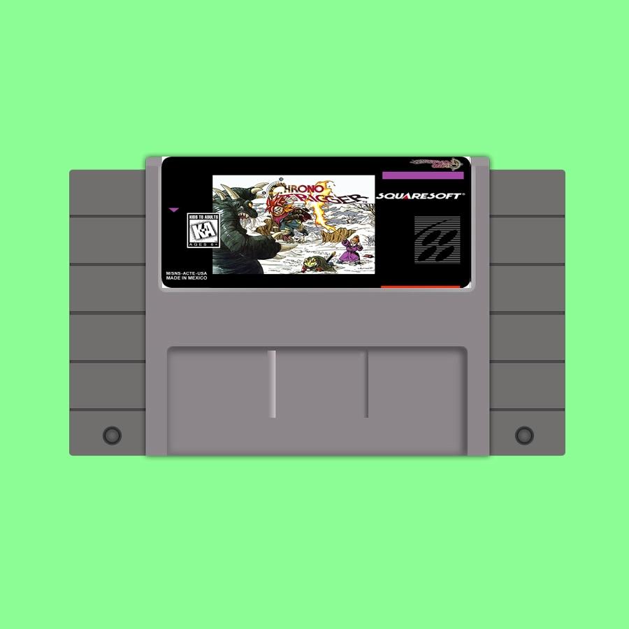 New arrival Save File 16bit super game card Chrono Trigger
