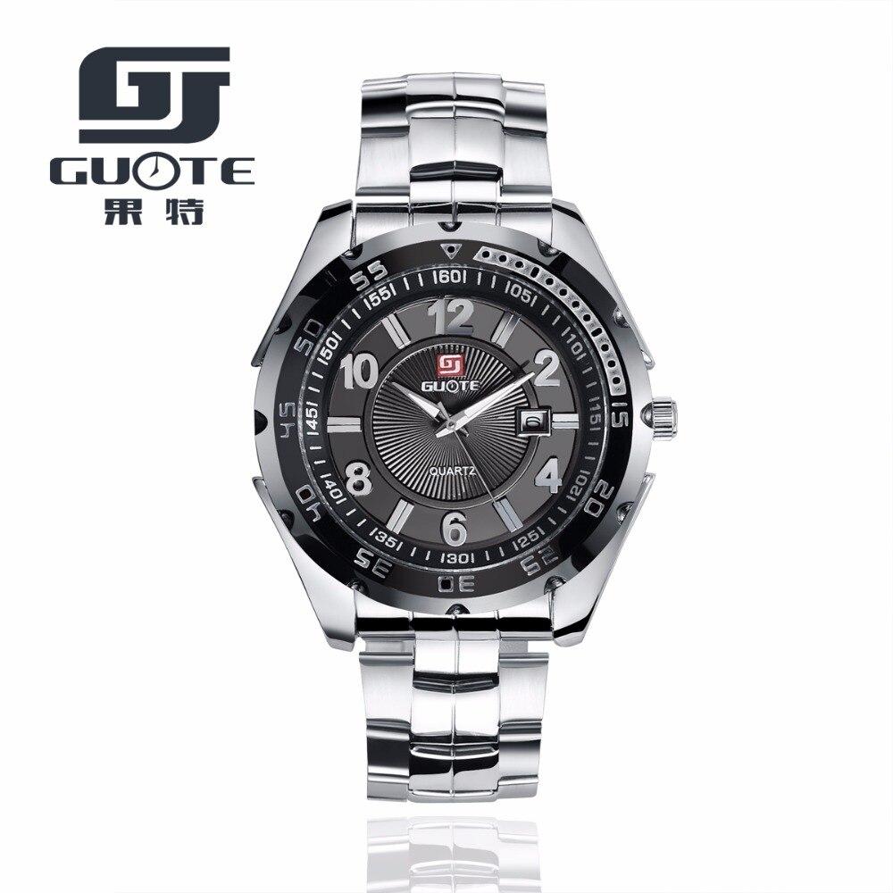 Reloj deportivo militar de marca guote lujoso para hombre, reloj analógico de cuarzo para hombre, reloj impermeable para hombre, reloj masculino relojes