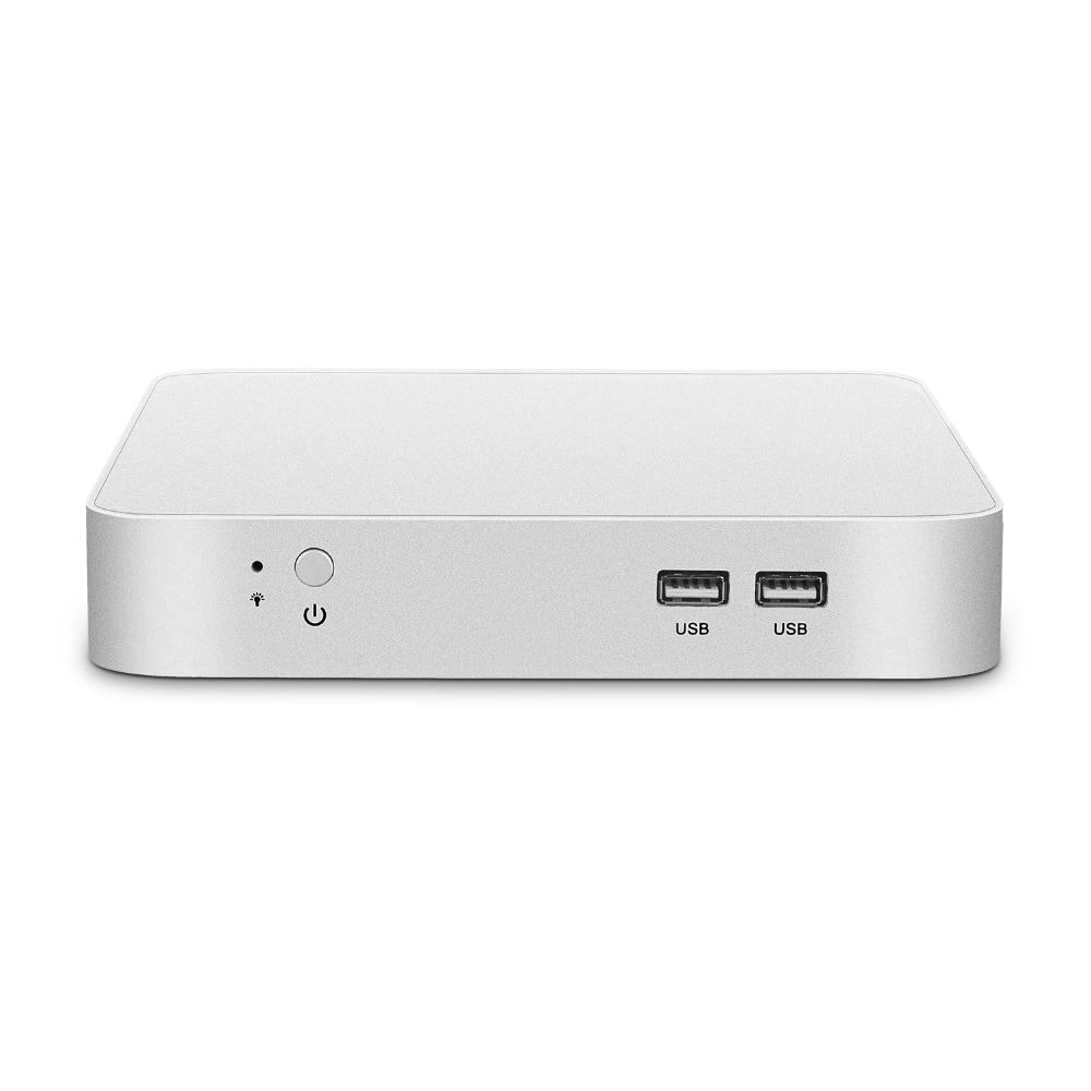 Mini PC Intel Core i7 7500U i5 7200U i3 7100U Windows 10 4K UHD Gaming PC HTPC HDMI VGA 300M WiFi Gigabit Ethernet Dual Storage